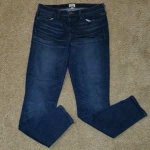 J crew toothpick denim skinny jeans 31 tall